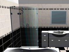 Bathroom interior design made of Zorka Keramika Tiles - Sava Collection
