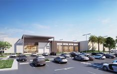 Retail center of 3000sqm in Dubai hills