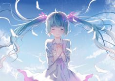 vocaloid wallpaper for desktop background, 1500x1060 (209 kB)