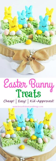 Easy Easter Bunny Treats-Cute Ideas for Easter – Beautiful Eats & Things Easy Easter Bunny Treats-Cute Ideas for Easter Treats Easy Easter Recipes, Easy Easter Desserts, Easter Snacks, Easter Lunch, Easter Treats, Easter Food, Desserts Ostern, Easter Cupcakes, Keto