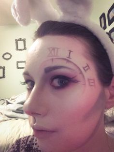 Okay, not late. In fact, very early. Halloween is over a month away but I couldn't help trying out a costume. I was actually inspired by the clock I demolished then repurposed way back in thi…