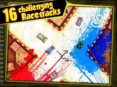 Если вы любите маленькие машинки, то Paper Racer вам понравится. Это довольно приятная игра с несколькими уровнями сложности и необычной графикой. http://android-topics.com/bumazhnye-gonki-paper-racer/  #android #androidgames #гонки #гоночный