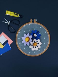 Fold these gorgeous spring flowers with Est in her easy to follow mini make. Flower Tutorial, Spring Flowers, Origami, Coin Purse, Stationery, Wallet, Mini, Easy, Products