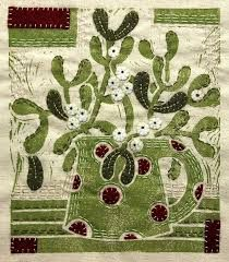 Image result for louise nichols textile artist Applique Stitches, Applique Quilts, Embroidery Applique, Textiles, Fabric Stamping, Christmas Sewing, Free Machine Embroidery, Small Quilts, Textile Artists
