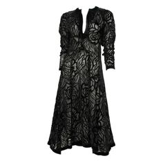 OSSIE CLARK | From a collection of rare vintage evening dresses and gowns at https://www.1stdibs.com/fashion/clothing/evening-dresses/