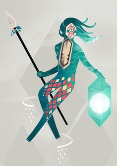 The Sea Guardian by Reno Nogaj, via Behance