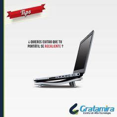 Si quieres evitar que tu portátil se recaliente, ubícalo sobre un escritorio limpio y en una base. Recuerda que los mejores accesorios para tu computador los encuentras en  Gratamira El centro de alta tecnología del oriente colombiano
