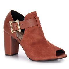 Summer Boots Conforto Feminina Beira Rio - Marrom