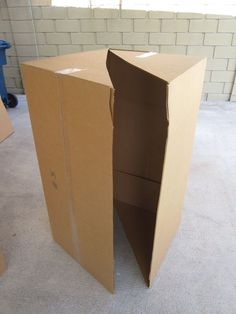 Nerf battle forts from cardboard boxes. You could also paint them so it's not so dull looking