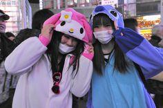 渋谷のサンタのコスプレ写真23