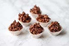 Try this healthy variation of everyone's childhood favourite treat - the chocolate crackle! They're super easy to make and a crowd favourite. Chewy Chocolate Chip Cookies, Chocolate Cookie Recipes, Healthy Chocolate, Chocolate Chocolate, Peanut Butter Swirl Brownies, Sweet Recipes, Brunch Recipes, Yummy Recipes, Snack Recipes