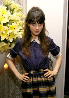 zooey deschanel casual glasses - Google Search