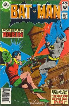 Robin - Comics Code Authority - 40 Cents - Guest Star - Building - Dick Giordano
