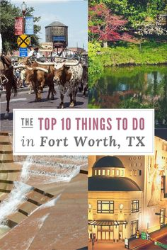 The Top 10 Things to Do in Fort Worth, TX from a local. If you are visiting Fort Worth you will want to check these places out. Don't travel to Fort Worth with out reading this article! www.asoutherntrav...