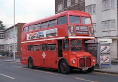 Routemaster, Buses And Trains, Bus Terminal, Double Decker Bus, Bus Coach, Red Bus, London Bus, London Transport, Busse
