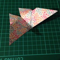 Origami butterfly - instructions are in my origami board