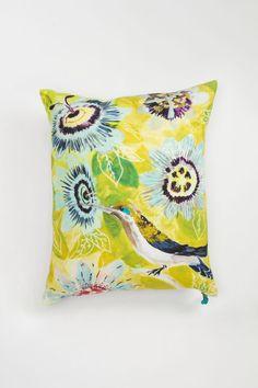 Botanical Musings Pillow - Anthropologie.com