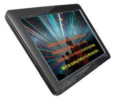 "Acesonic Touch Screen for KOD-1100 & KOD-920 (19"" Black)"
