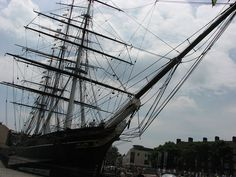 The Cutty Sark Tea-Clipper ship