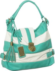 """Purse Boutique: Turquoise Large Vitalio Vera Zane Hobo Handbags, Purses."""