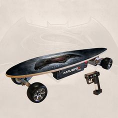 Maverix - 400 Watt Urban Spirit Dawn of Justice Electric Skateboard - Black, URBDOJ1
