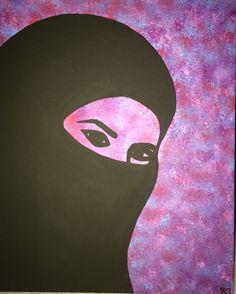 Nicole, Acrylic '17 #silhouette #hijab Disney Characters, Fictional Characters, Silhouette, Disney Princess, Instagram, Art, Art Background, Silhouettes, Kunst