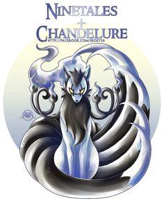 Ninetales + Chandelure