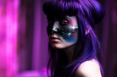 Bright Sparkling Purple