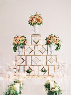 The sky is the limit with this dreamy alter! Floral design by Posh Floral Designs. Wedding planner: Grit + Gold. Furniture rental: AFR Event Furnishings. Photo taken by Stephanie Brazzle Photography. #weddingalter