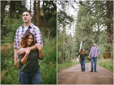 I had the pleasure of taking Ana and Josh's engagement pictures and then, their wedding photos. These two are awesome. Ana is a little firecraker - full of spunk. And Josh is quiet and stable. Together they make a great team.On a photographer note - when couples have a large height difference it…