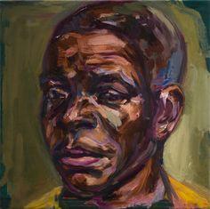 Extracomunitario 30x30cm / Oil on canvas