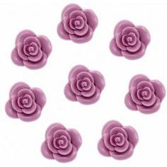 8 Rositas de Jabón, molde de silicona. Molde de silicona  para jaboncitos pequeños, apto para hacer con glicerina, perfecto para #hacerdetalles. #DIY