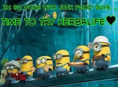 Even the Minions are making the Herbalife Decision.  https://www.goherbalife.com/carla-dean