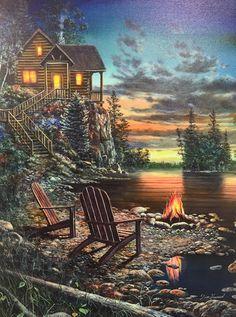 – The Cabin Scene Serene
