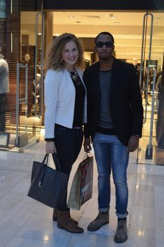 Lisanna and Christan looked glamourous on their Sunday shopping trip. Clothes Line, Sunday, Glamour, Events, Chic, Shopping, Style, Fashion, Domingo