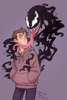 How To Draw People - Cartoon And Realistic - Drawing On Demand Venom Comics, Marvel Venom, Marvel Art, Marvel Dc Comics, Marvel Avengers, Ms Marvel, Captain Marvel, Drawing Cartoon Characters, Character Drawing