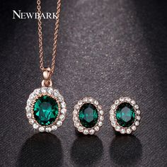 Like and Share if you want this  NEWBARK Fashion Imitation Gemstone Jewelry Sets Rose Gold Plated Green Oval Crystal Necklace Earrings Set Paved Rhinestone     Tag a friend who would love this!     FREE Shipping Worldwide     Buy one here---> http://jewelry-steals.com/products/newbark-fashion-imitation-gemstone-jewelry-sets-rose-gold-plated-green-oval-crystal-necklace-earrings-set-paved-rhinestone/    #cute_earrings