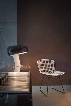 Snoopy Flos lampe Bertoia Tabouret Knoll International | Architonic