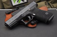 Nice stippling job with Zev Tech trigger and slide lock lever