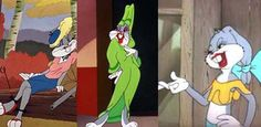 Bugs Bunny (America's First Drag Superstar? Looney Tunes Characters, Looney Tunes Cartoons, Elmer Fudd, Celebrity Caricatures, Classic Cartoons, Bugs Bunny, Pulp Art, Gay Pride, Memes