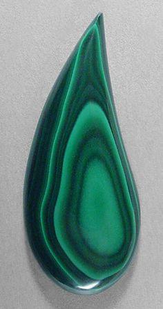 MALACHITE designer cab! Silverhawk's designer gemstones.