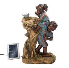 Cool Drink Children Solar Fountain