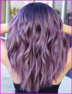 65 Awesome Purple Hair Color Ideas Purple hair color ideas are in right now and what better shade of pastel than ultra flattering and feminine lavender hair Today s article is all abo Blue Purple haircolor Lilac Hair, Hair Color Purple, Hair Dye Colors, Cool Hair Color, Purple Ombre, Purple Hair With Blonde, Purple Hair Styles, Pastel Colors, Lavender Hair Dye