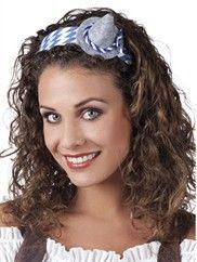 Oktoberfest minihat på hårbøjle