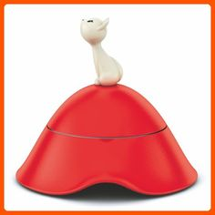 Alessi Mio Red Cat Bowl - Fun stuff and gift ideas (*Amazon Partner-Link)