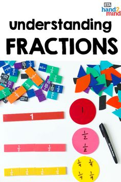 Fraction tiles and circles are the perfect manipulates for students to explore fractions.  Use them for hands-on learning to introduce equivalent fractions, comparing fractions, mixed numbers, and even adding, subtracting, multiplying and dividing fractions.  Use them with task cards for independent student practice, or as part of your small group instruction.  Fraction tiles help students recognize that fractions fit together to form a whole.  Visually show students fraction relationships! Comparing Fractions, Dividing Fractions, Multiplying Fractions, Equivalent Fractions, Multiplication, Math Rotations, Math Centers, Math Games, Math Activities