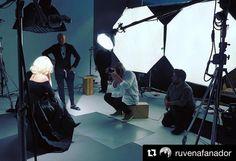 #BehindTheScenes by @ruvenafanador with inspiring beauty #JessicaLange @OutMagazine editor @AaronHicklin photo director @Greggarry stylist @Negar_Ali_Kline makeup @FrancescaTolot hair @RobertVetica set design @RonZakhar @Milk studios @SarahLaird_GoodCo @FeudFX #JoanCrawford #BetteDavis