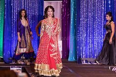 2015 SUHAAG OTTAWA Wedding Show, Fashion Show Backdrop by Design & Decor, the official Decorators for the past 7 years!
