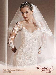 #collezione #abiti da #sposa 2016 #Pronovias linea LA SPOSA - Temptation's Gallery-30