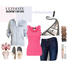 cozy Valentine's date night Valentines Day Date, Kinds Of Clothes, Dating, Cozy, Night, Stylish, Polyvore, Fashion, Moda